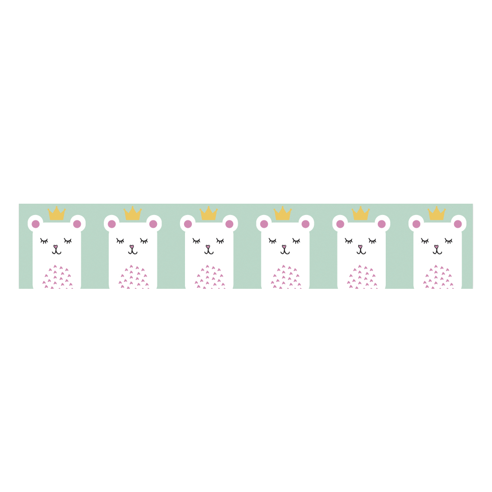 Washi Tape Little Princess, 15mm, Rolle 10m