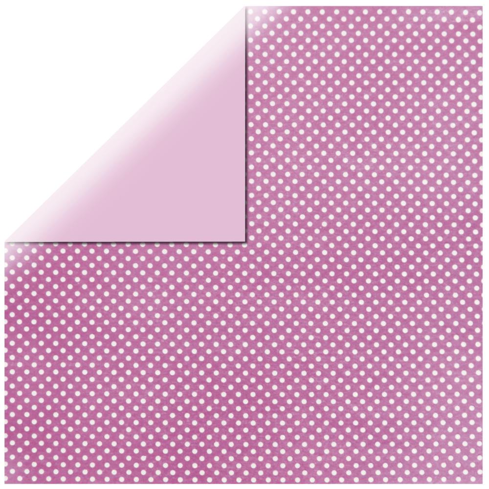 Scrapbooking-Papier: Glitter Dots, 30,5x30,5cm, 190 g/m2