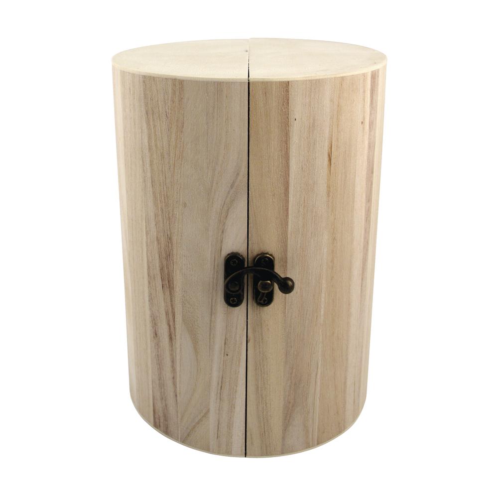 Holz SchmucksäuleMilano FSC Mix Credit, ø 15cm, Höhe 21cm, aufklappbar