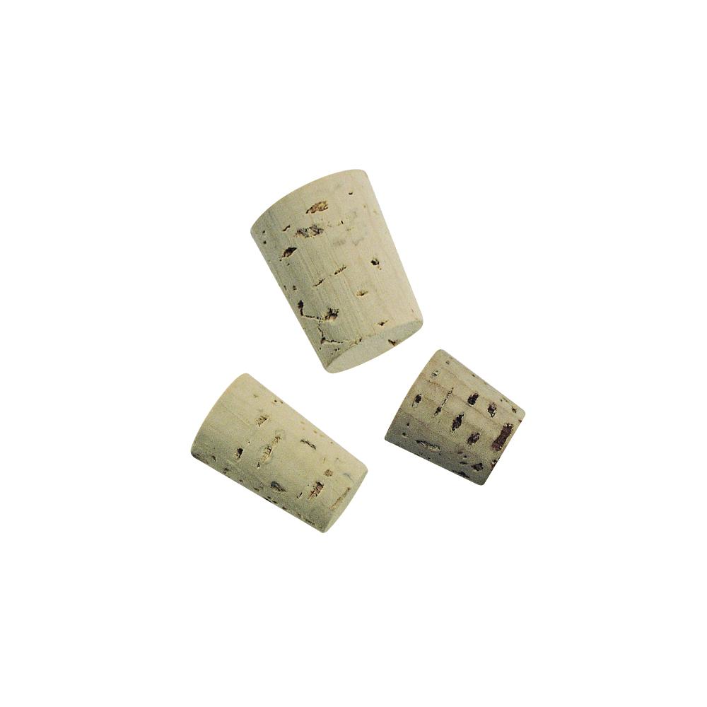 Spitzkorken für Flacons, Beutel 36 Stück, 3 Größen