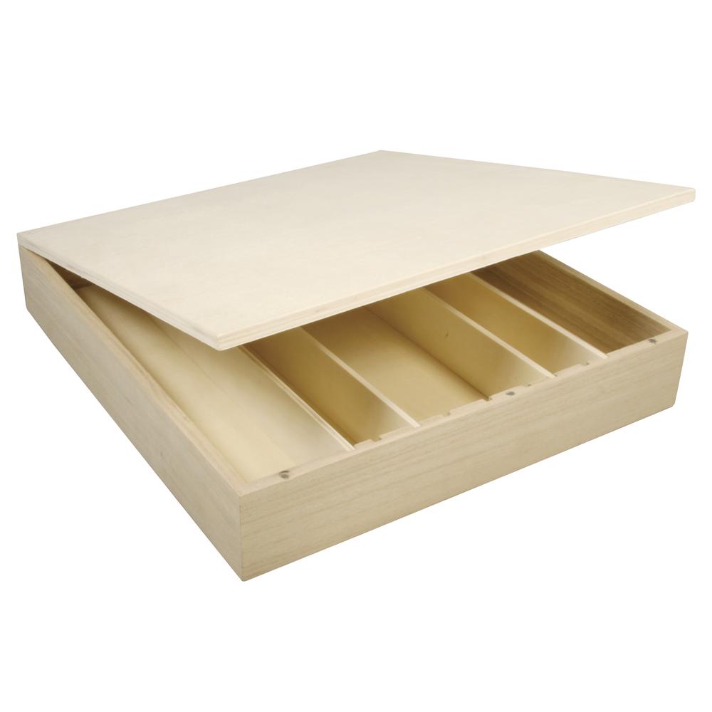 Holz Box FSC Mix Credit, 29,5x27x5cm, f.Kaffee-Cups&mehr