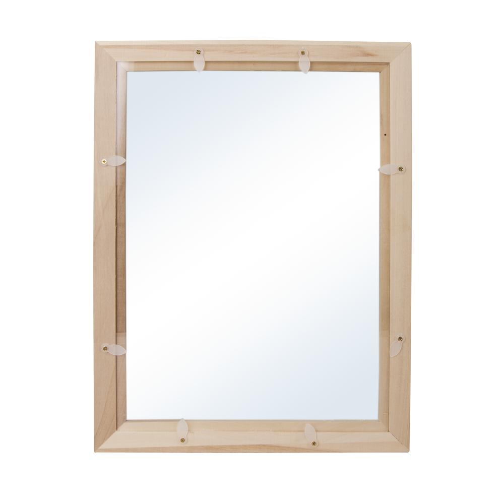 Holz-Rahmen mit Acrylglas, FSCMixCredit, 35x26x0,7cm, mit doppelt-Acrylscheibe