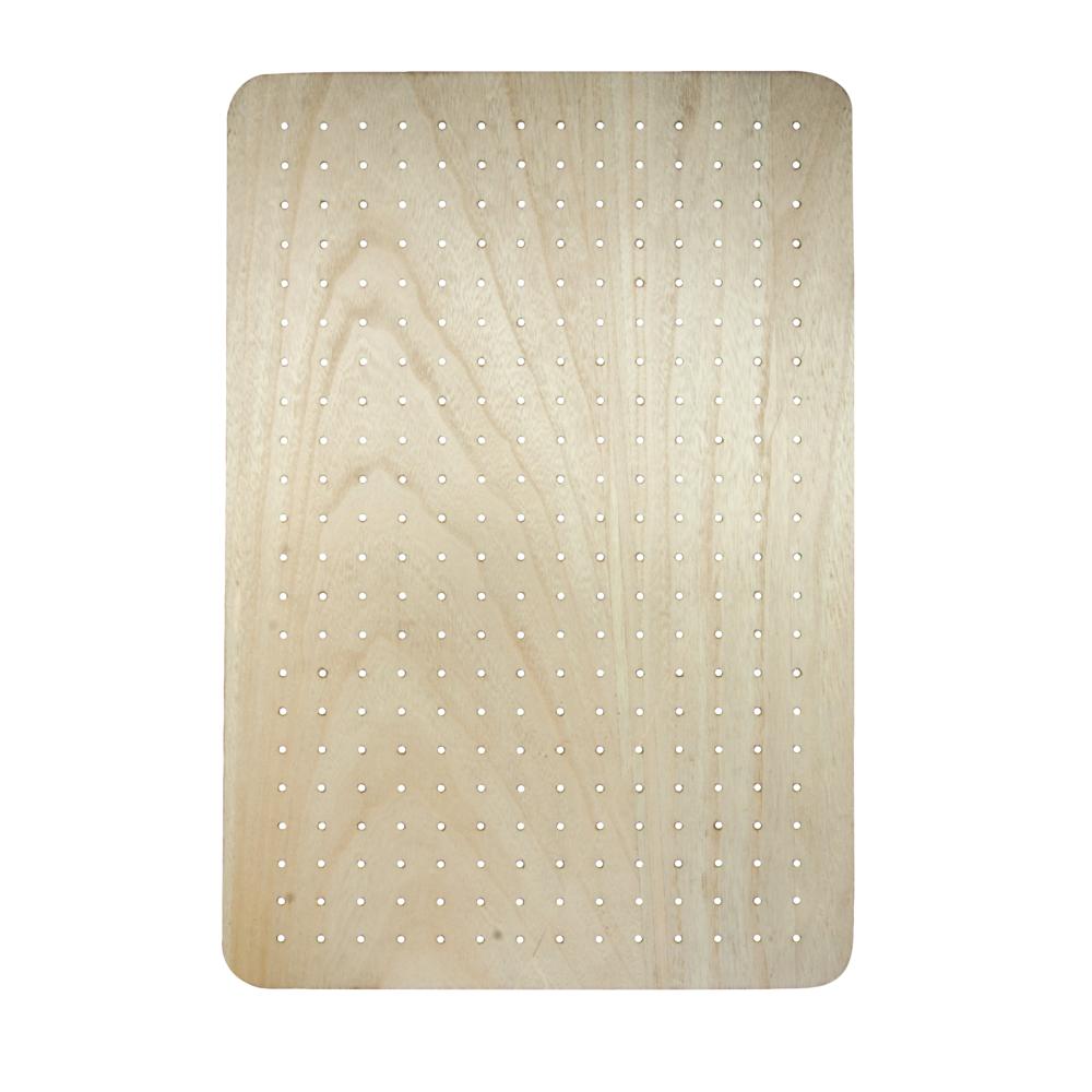 MDF Board furniert, 40x60x2,5cm, inkl. Aufhänger, natur