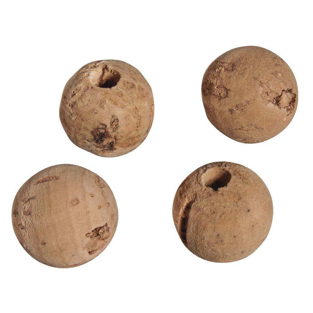 Kork-Perle, 20mm ø, Loch ø 4mm, SB-Btl 4Stück