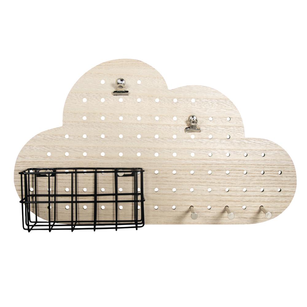 Pin&Peg Komplett-Set Wolke, 40x10x23,5cm, inkl. Aufhänger, Box 1Set