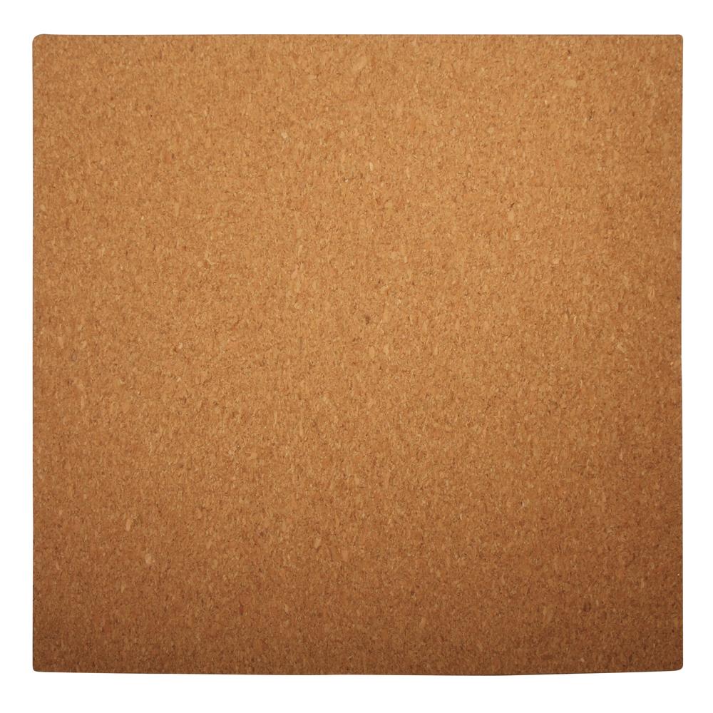 Quilling Korkplatte, quadratisch, 30x30x0,5cm, mit Messbogen