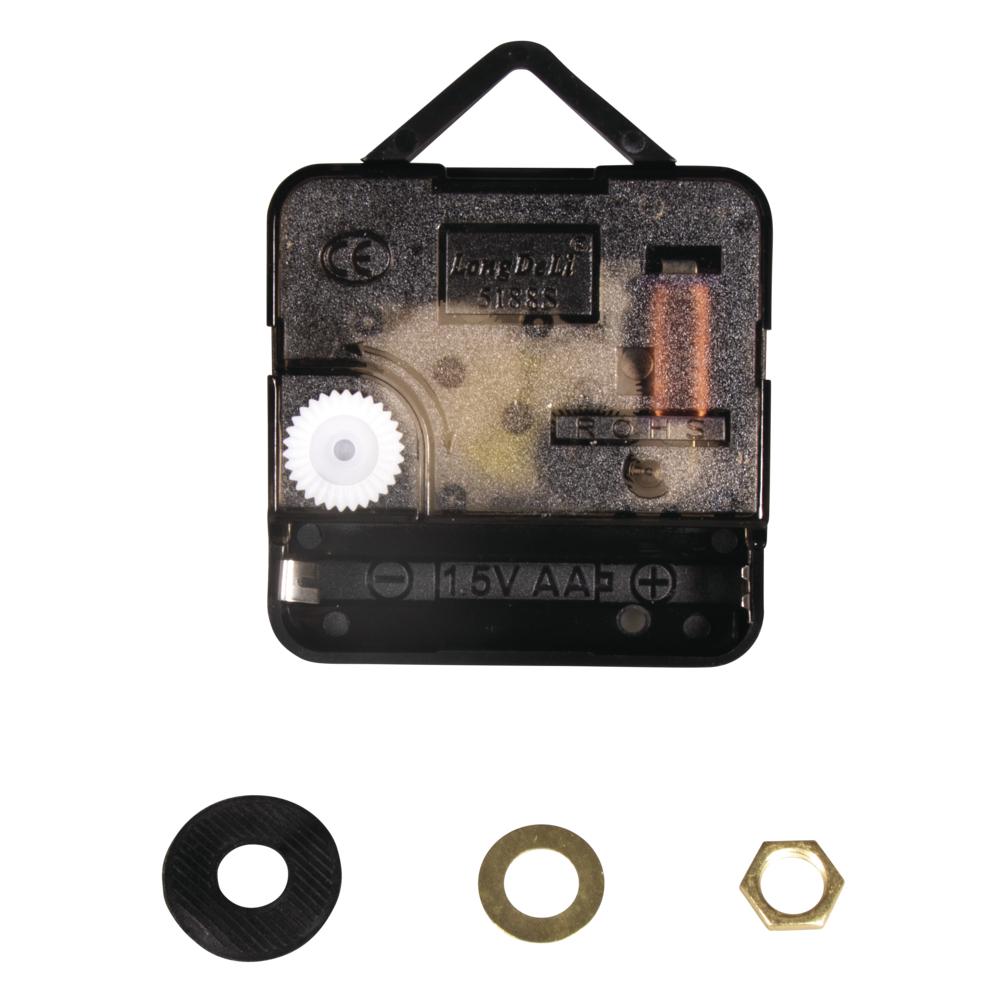 Quarz-Uhrwerk, 7,6mm ø, 16mm Achse, montiert, SB-Btl 1Stück