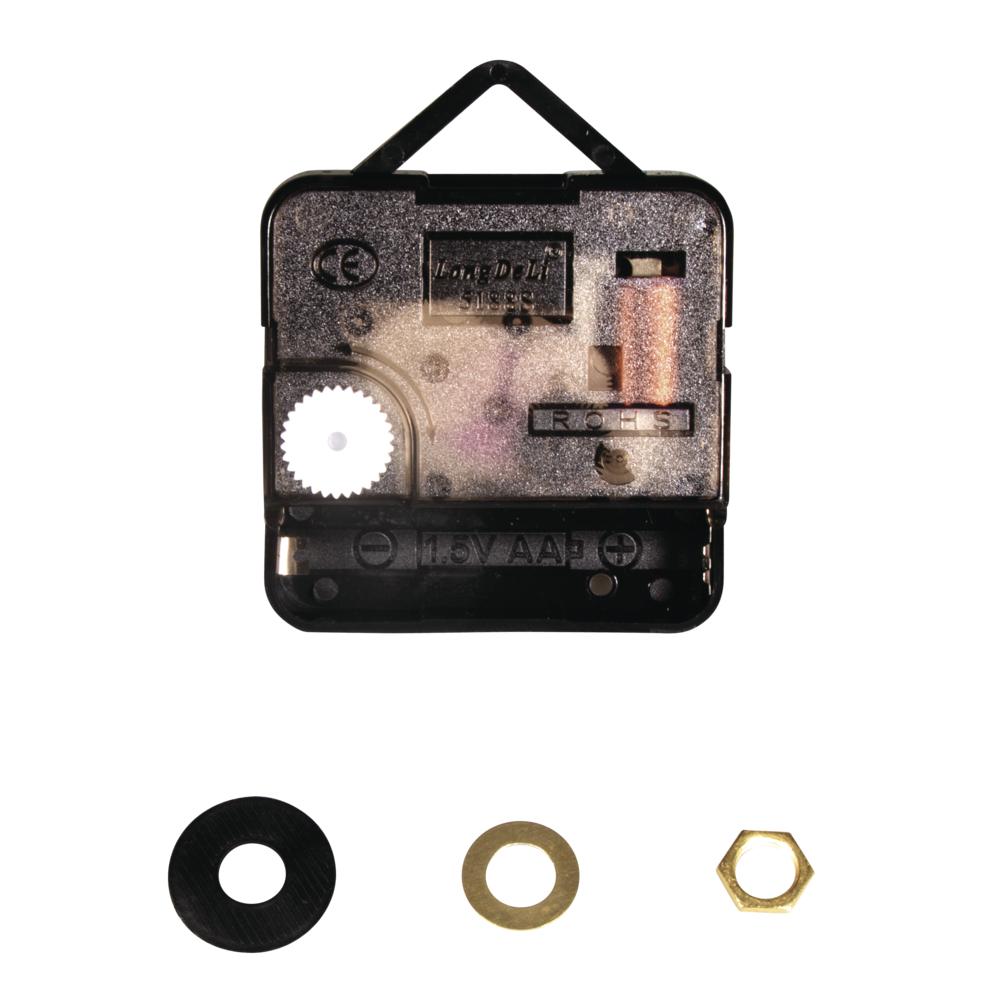 Quarz-Uhrwerk, 7,6mm ø, 20mm Achse, montiert, SB-Btl 1Stück