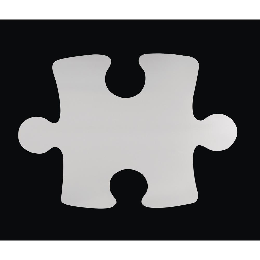 Dekospiegel: Puzzleteil, selbstklebend, 28,5x21,5 cm, SB-Btl. 1 Stück