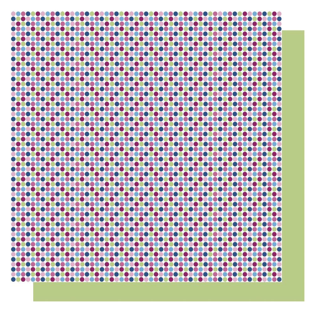Origami Papier Punkte,FSC Mix Credit, 15x15cm, blau Töne, Beutel 65Blatt