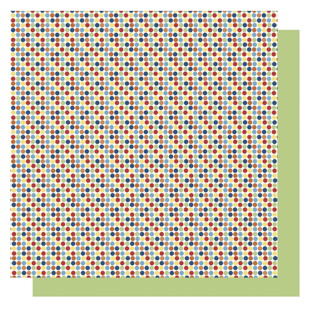 Origami Papier Punkte,FSC Mix Credit, 15x15cm, gelb Töne, Beutel 65Blatt