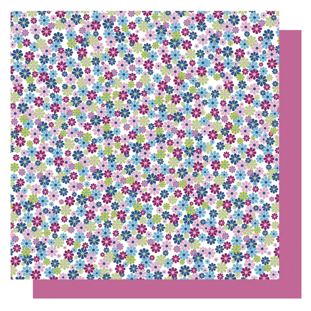 Origami Papier Blüten,FSC Mix Credit, 10x10cm, blau Töne, Beutel 65Blatt