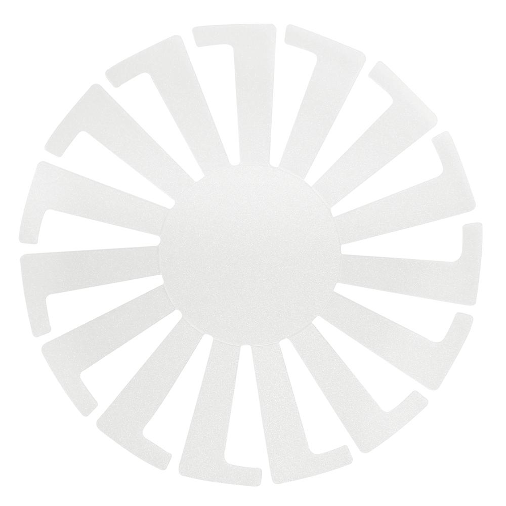 Kunststoff Schablone für Körbchen, 8cm ø, SB-Btl 3Stück
