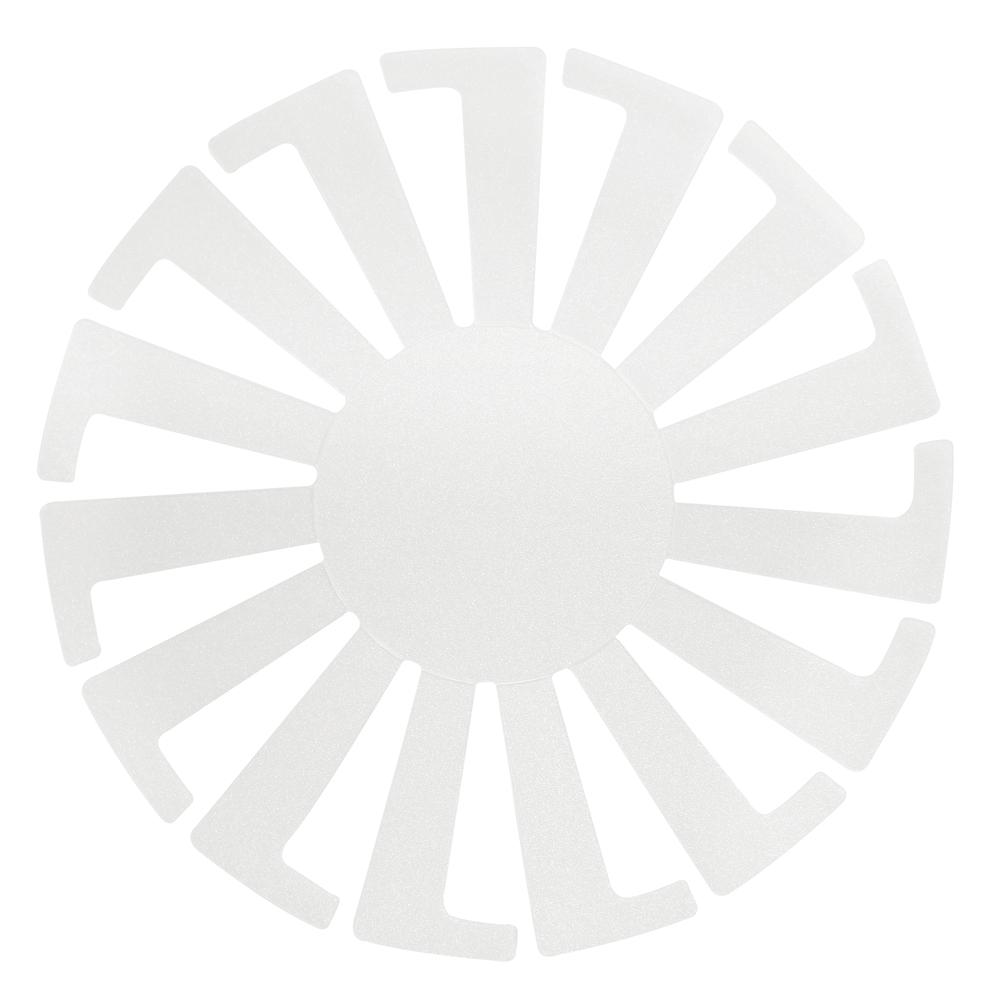 Kunststoff Schablone f. Körbchen, 14cm ø, SB-Btl 3Stück