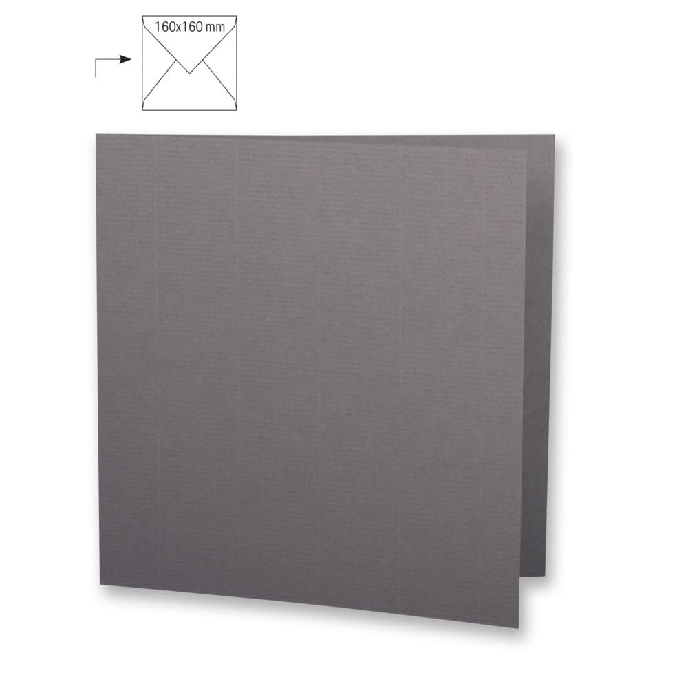 Karte quadr.,doppelt,uni,FSC Mix Credit, 150x300mm, 220g/m2, Beutel 5Stück