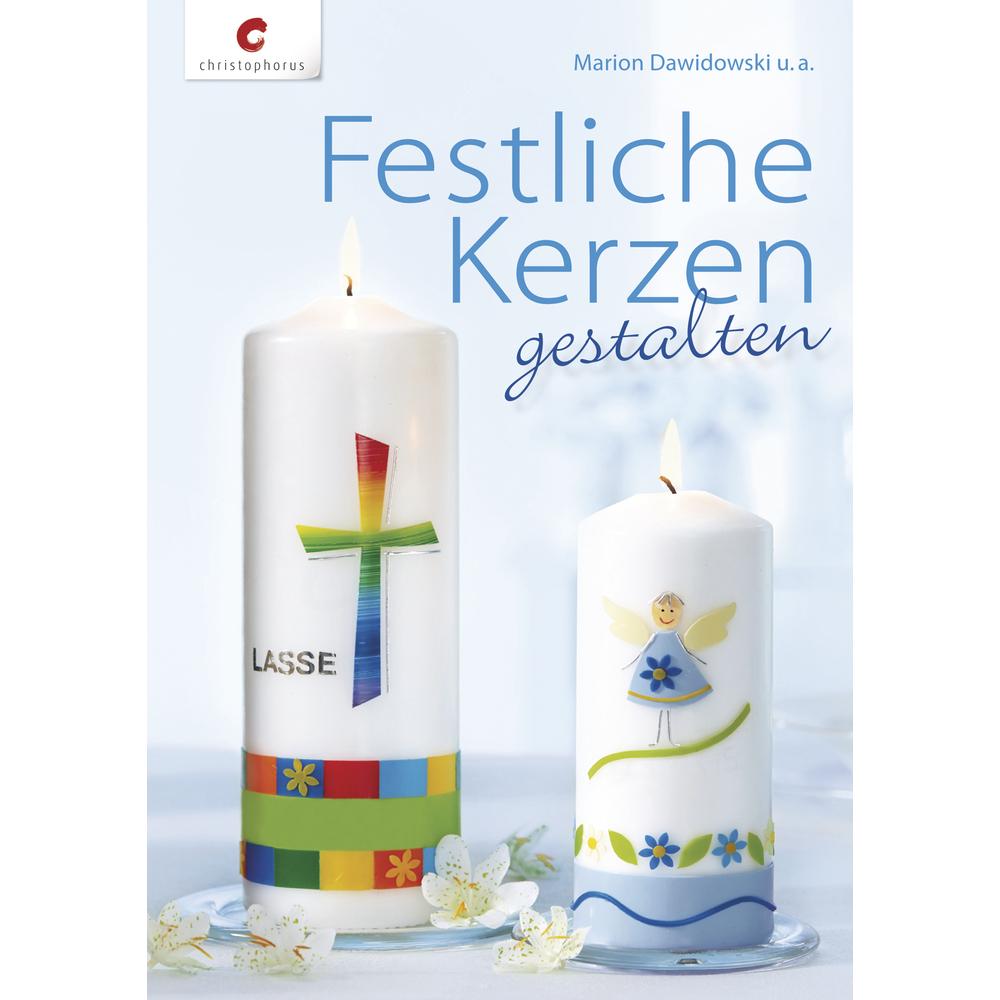 Buch: Festliche Kerzen gestalten, nur in deutscher Sprache