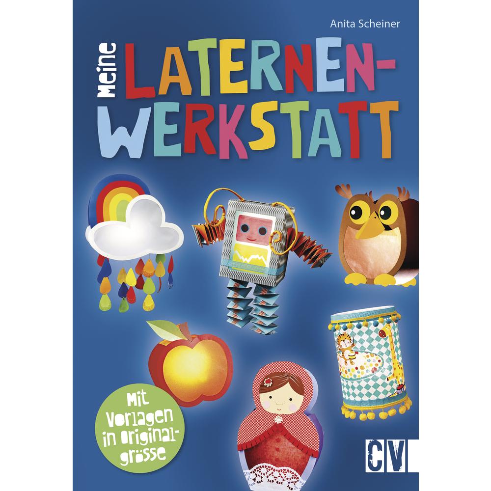 Buch: Meine Laternenwerkstatt, nur in deutscher Sprache