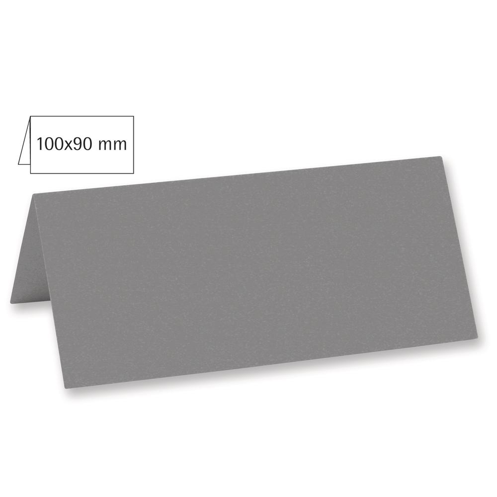 Tischkarte doppelt, uni, FSC Mix Credit, 100x90mm, 220g/m2, Beutel 5Stück