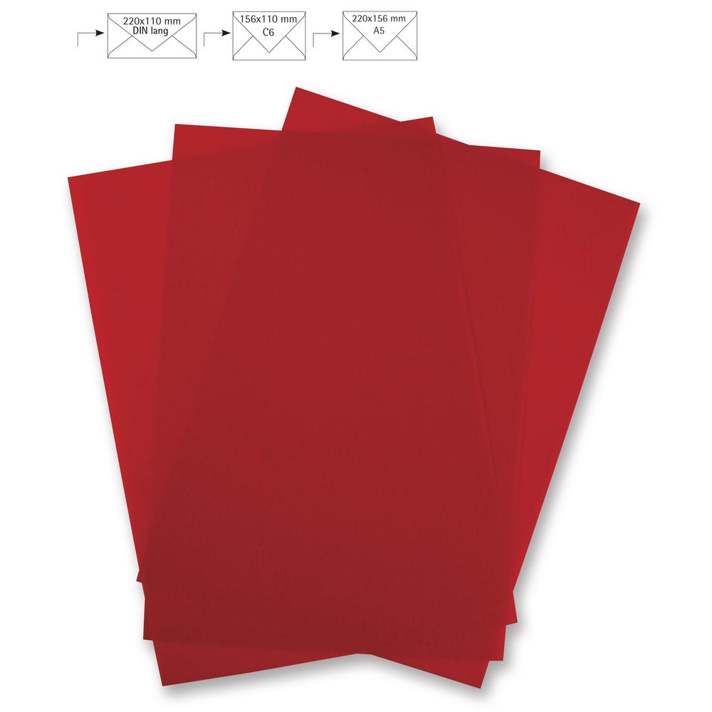 Briefbogen A4, pergament, FSC Mix Credit, 210x297mm, 100g/m2, Beutel 5Stück