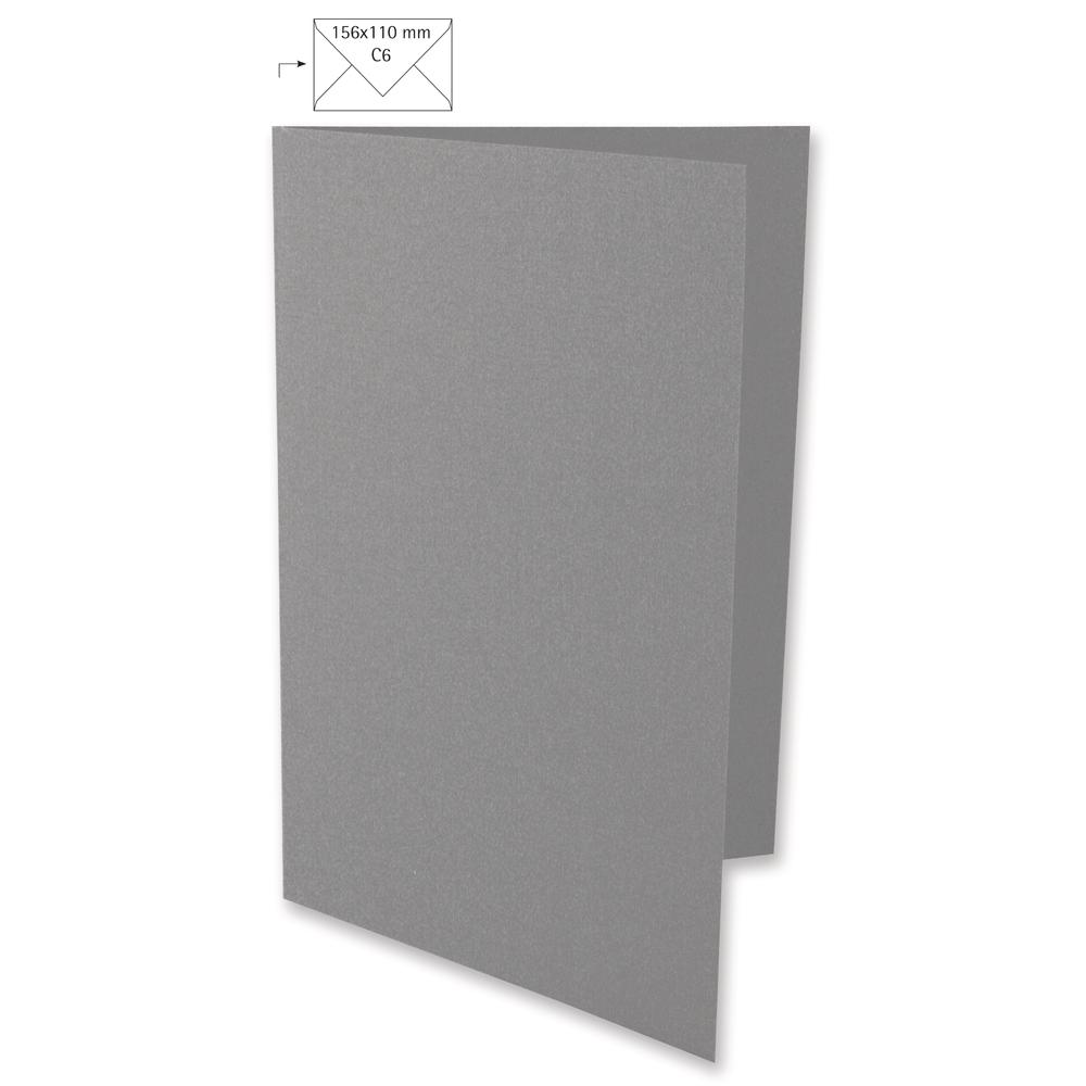 Karte A6, HD, uni, FSC Mix Credit, 210x148mm, 220g/m2, Beutel 5Stück
