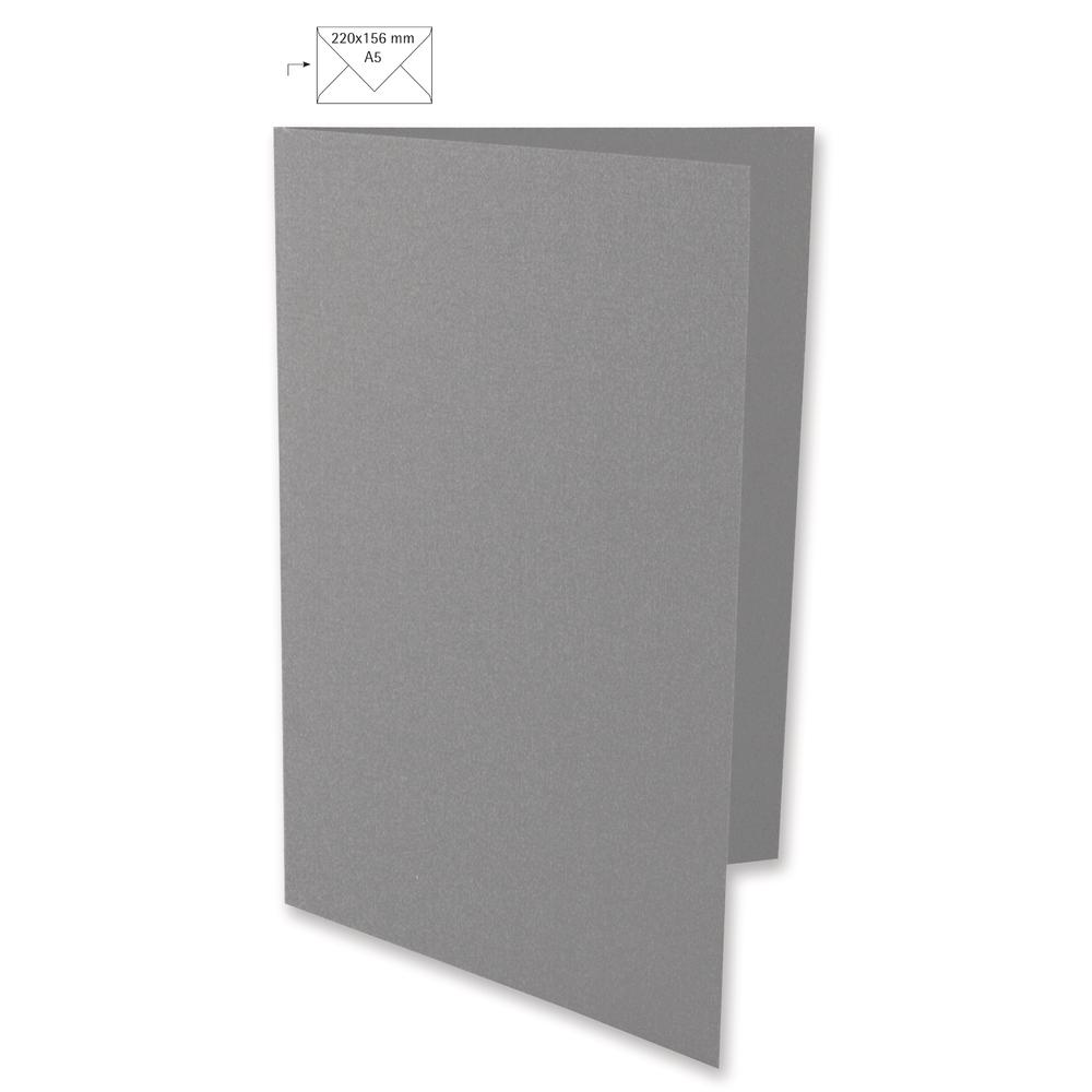 Karte A5, HD, uni, FSC Mix Credit, 297x210mm, 220g/m2, Beutel 5Stück