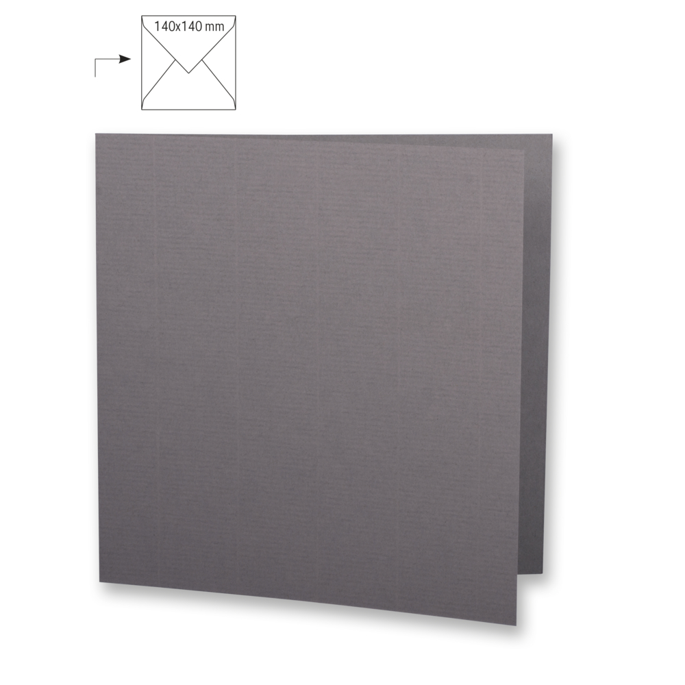 Karte quadr.,doppelt,uni,FSC Mix Credit, 135x270mm, 220g/m2, Beutel 5Stück