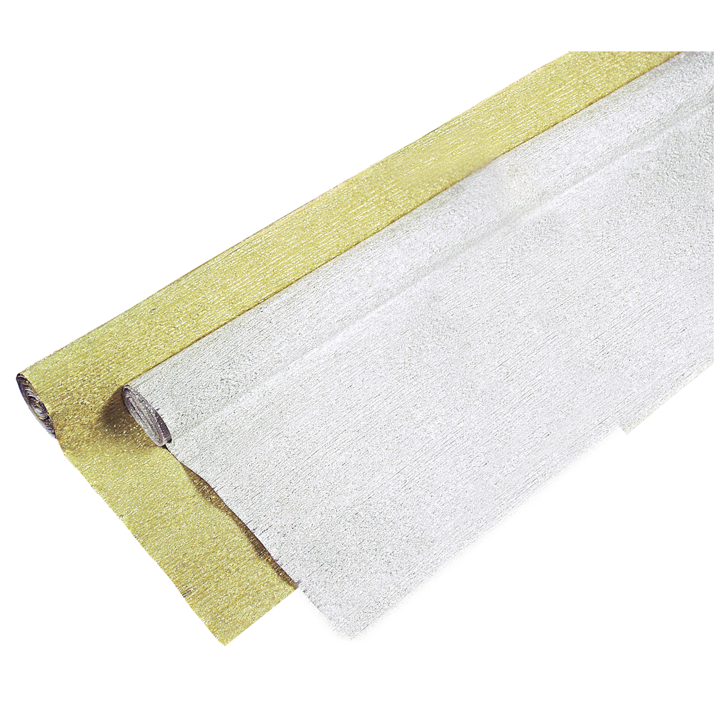 Alu-Krepp-Papier, 250x50cm, Rolle