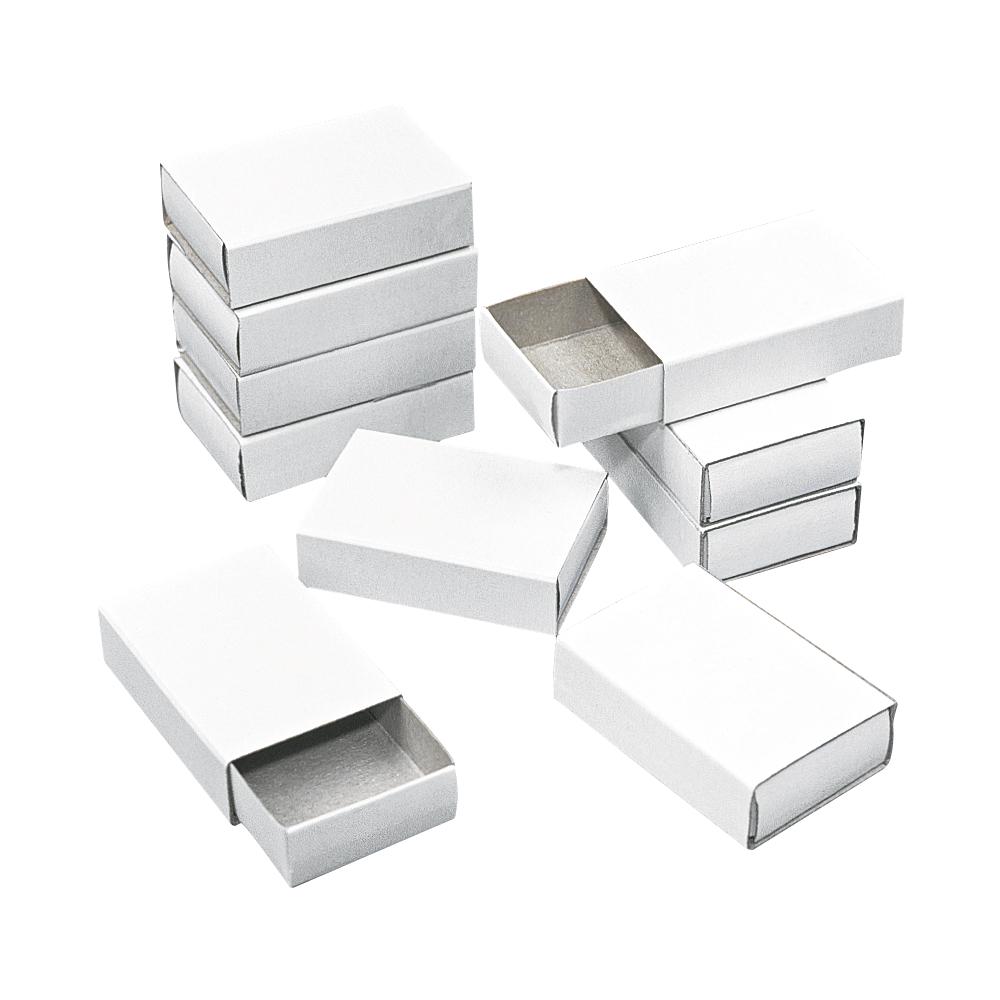Streichholzschachteln, klein, Beutel 12 Stück, 5,3x3,6x1,5 cm