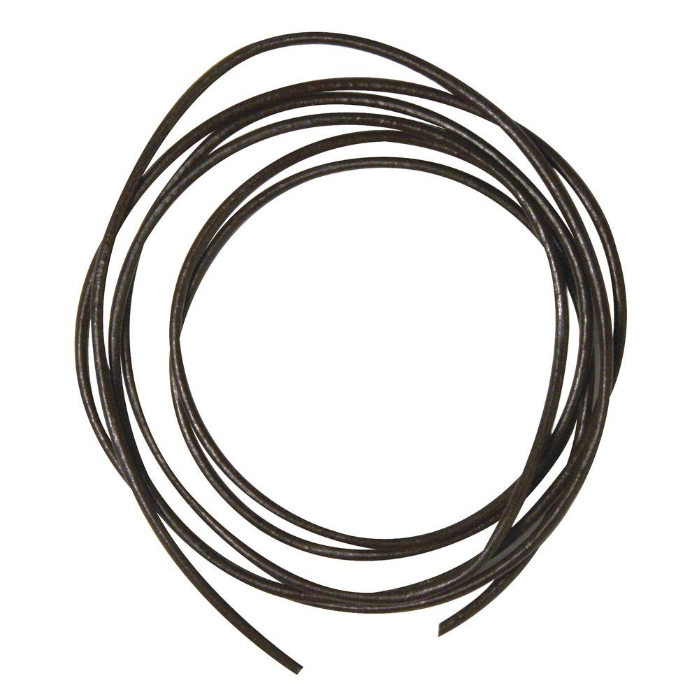 Rundriemen aus Ziegenleder, 1,5mm ø, 100cm