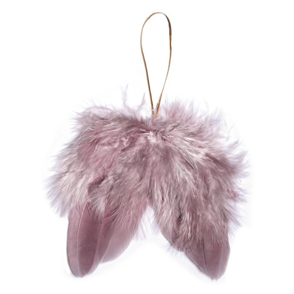 Engelflügel aus Federn, 5cm, SB-Btl 2Stück