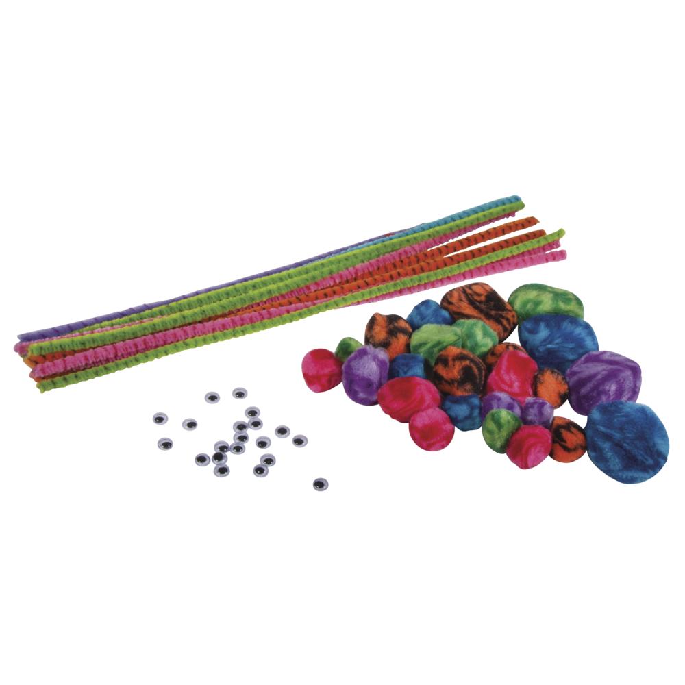 Chenille-Bastelset Candy