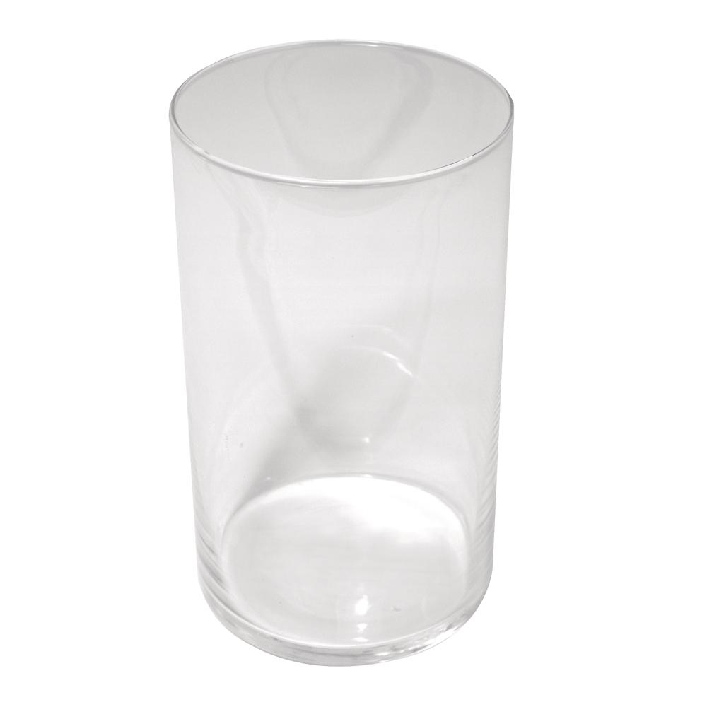 Glas-Vase, 9cm ø, 15cm