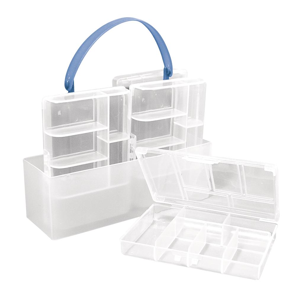 Sortierbox, 4 kleine Boxen