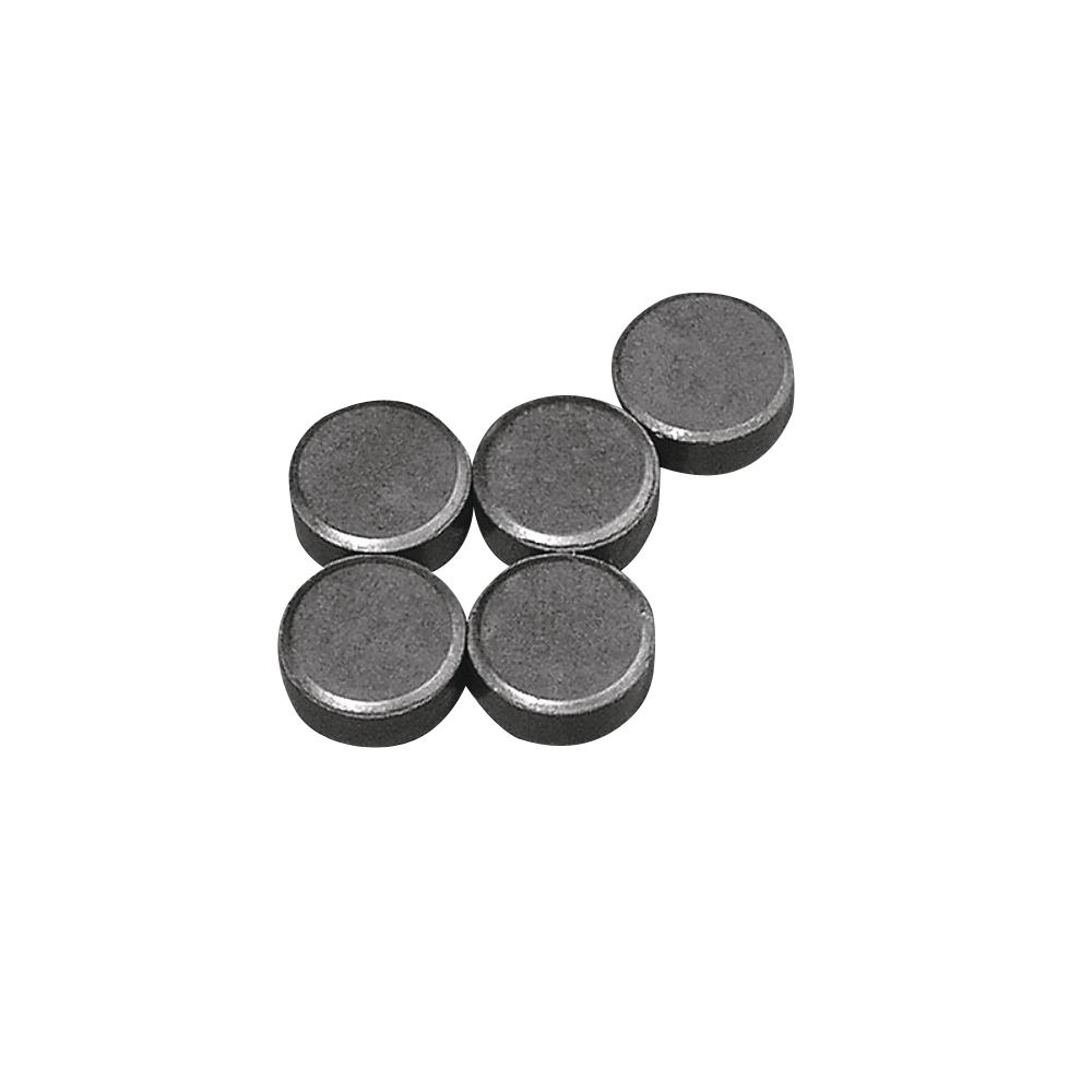 Magnet, 13mm ø, Stärke 5mm, SB-Btl 5Stück