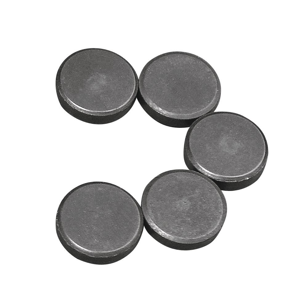 Magnet, 20mm ø, Dicke 5mm, SB-Btl 5Stück