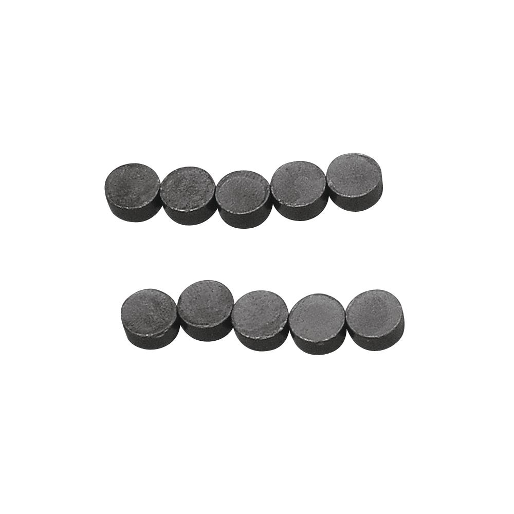 Magnet, 8mm ø, Stärke 4mm, SB-Btl 10Stück