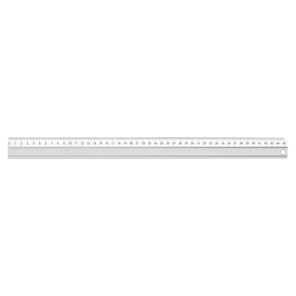 Alu-Lineal, Länge 45 cm