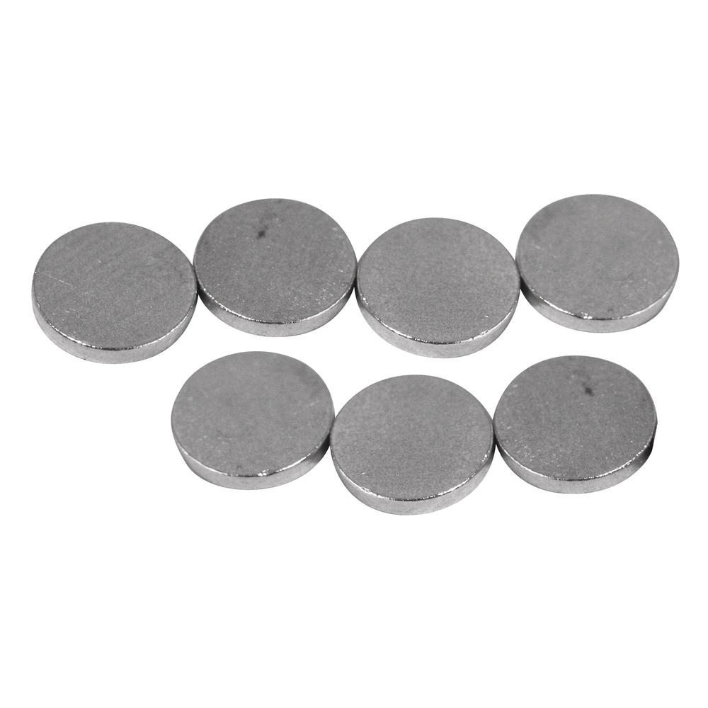 Magnet, 6mm ø, Stärke 1mm, SB-Btl 20Stück