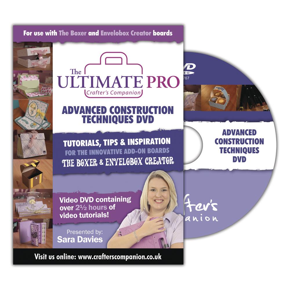 DVD Ultimate Pro, deutsch + englisch, f. The Boxer u. Envelobox Creator